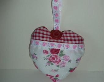 Peppa pig padded heart