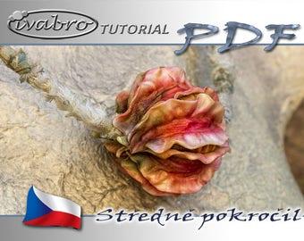 Polymer clay tutorial - Kyťásky - Czech