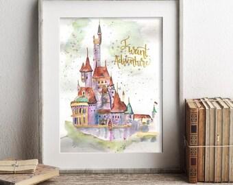 I Want Adventure castle