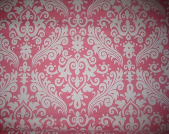 Hollywood Large Damask in Hot Pink from Riley Blake Fabrics, yard