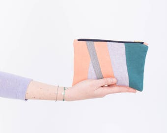 Zero waste pouch - Makeup bag - Eco friendly