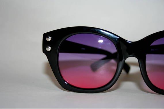 Black Hornrim Sunglasses