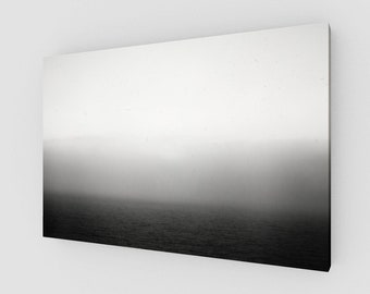 Mediterranean Sea Smoke, Canvas, 1:50 Limited Edition / home decor / decoration / photo / photography / black and white /