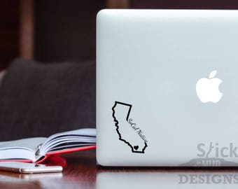 Custom SoCal Native California Vinyl Decal (Outline Style)