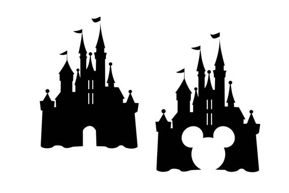 disney castle svg castle clipart disney svg disney dxf rh etsy com disney castle clipart free cinderella castle clipart free