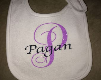 Personalized Bibs. New Baby. Baby Shower Gift. Coming Home Outfit