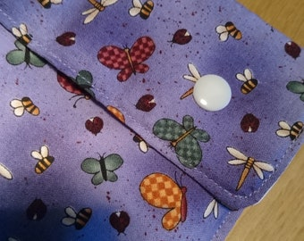 Small wet bag, cloth pad pouch