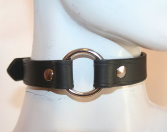 """Classic Single 3/4"""" O-Ring Choker (grooved edging) With nickel free option"""