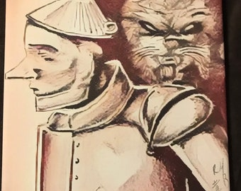 Tin Man & Lion