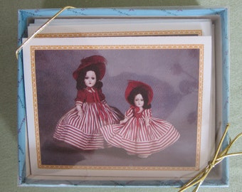 Madame Alexander Note Cards - Scarlett O'Hara Note Cards - Gone with the Wind Note Cards - Set of 10 - Unused Thank You Just Because Doll