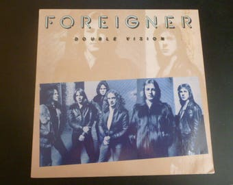 FOREIGNER Double Vision Vinyl Record SD 19999 Atlantic Records  1978