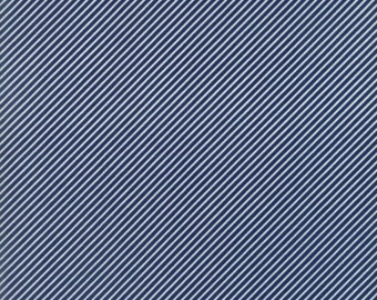Basics - Scrumptious Stripe Navy by Bonnie and Camille for Moda, 1/2 yard, 55071 37