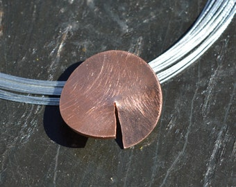 9k 14k 18k GOLD pendant, EXCLUSIVE,UNIQUE,modern,solid gold necklace,red rose gold, gold jewelry, gold pendant,geometric,minimalist,unique
