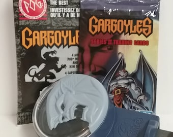 Combo Set- GARGOYLES Tradiing Cards, Pogs, and Toy