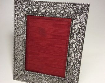 "Picture frame ""Ribbons"" in silver"