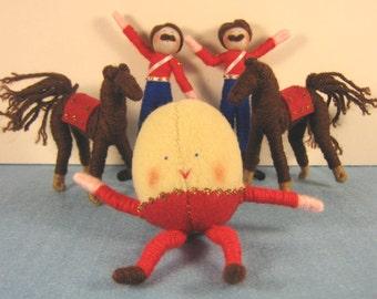 Humpty Dumpty Storybook doll set