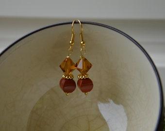 Autumn Lantern Earrings