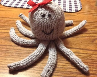 Octupus Stuffed Animal