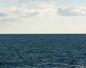 Oversized Large Ocean Photograph, Blue Green Ocean, 40x60 Fine Art Photography Print by Tricia McKellar
