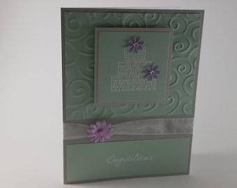 Wedding Card, Congratulations Wedding card, Wedding Cake