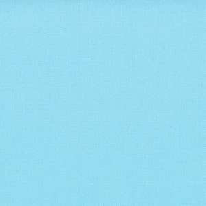 Aqua Solid Cotton Fabric - Modern Quilting Sewing - Moda Fabrics Bella Solids Collection - cotton Fabric by the yard
