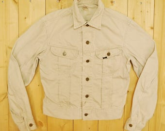 Vintage 1960's LEE Westerner 100-J Jean Jacket / Union Made / SANFORIZED / Made in the USA / Retro Collectable Rare