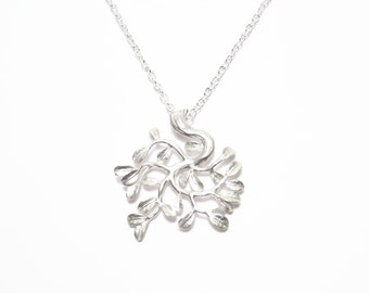 Tree Pendant Necklace, Silver Tree Pendant, Tree Pendant Jewelry, Everyday Jewelry, Silver Tree Necklace