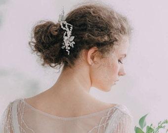 Wedding Hair Pins,Bridal Hair Accessories, Bridal Hair Pins, Leaf Hairpins, Bridal Headpieces, Wedding hair clips, Comb, Bridal hair vine
