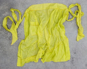 Simple Apron Vintage Smock Hostess Apron 1950s Pin Up Pin-Up Bachelorette Bridal Shower Gift 7ND