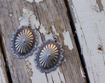 Concho Earrings