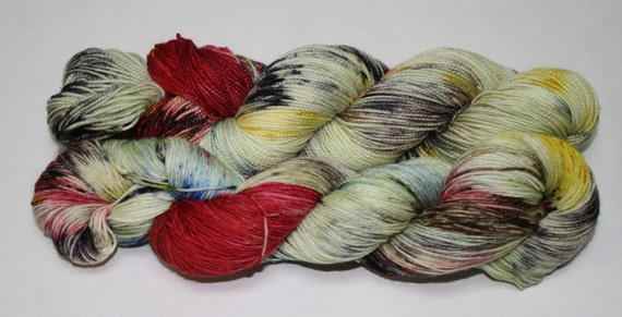 Ready to Ship - Our Voice Hand Dyed Sock Yarn - Tough Sock