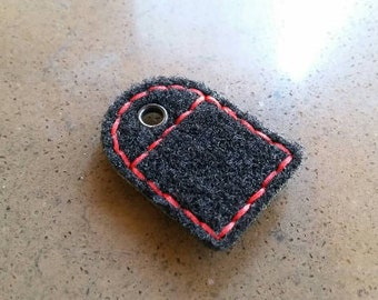 Fuzz Loop Keychain for Ranger Eye Morale Patch Fob