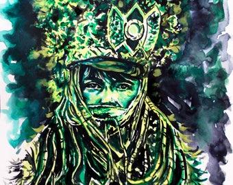 watercolor watercolor tibet mystery mystery tibet