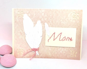 Mothers Day Card - Card for Mom - Mother Birthday Card - Mom Birthday Card - Handmade Birthday Card - Paper Handmade Greeting Card