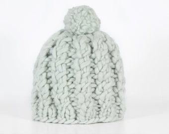 Knit Hat, Pom Pom Beanie, Winter Hat, Beanie Hat, Women Hat, Knit Beanie, Wool Hat, Winter Beanie, Womens Knit Hat, Pom Pom Hat, Pom-pom Hat