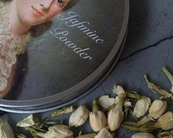 Limited Edition: 1772 Finely Perfumed Jasmine Hair And Body Powder