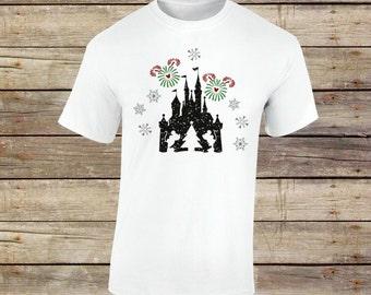 Christmas Castle Shirt, Disney Christmas, Christmas Shirt, Minnie, Minnie Mouse, Mickey, Disney Vacation, Disney World, Disney Vacation,Snow