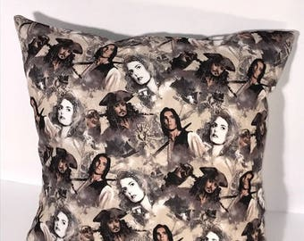 Pirates of the Caribbean Pillow Cover