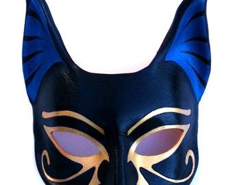 Bastet Leather Mask