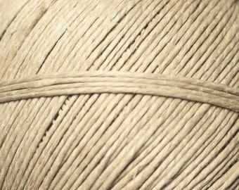 5 Metters - wire cord 1 mm Beige Ecru linen - 8741140013902