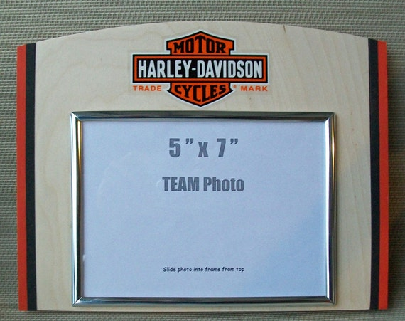 Harley Davidson Picture Frames from CustomMadeStuff on Etsy Studio