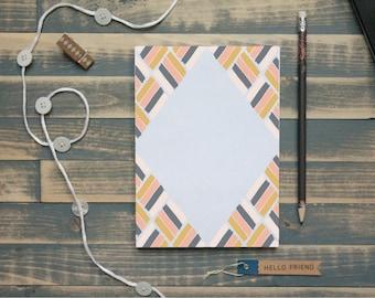 Painted Diamond Memo Pad | Diamond Painted Notepad |  Gift for Her | Christmas Gift | Teacher Gift | Stocking Stuffer | Gift for Mom