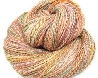 Handspun Yarn Fine Merino Wool Hand Dyed 110g 330 Yards