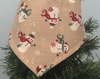 Santa's team reversible bandana