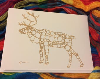 Journey of the Reindeer Cards, 5 pack