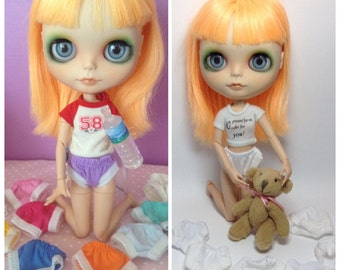 6 pieces of panty for neo blythe & Pullip