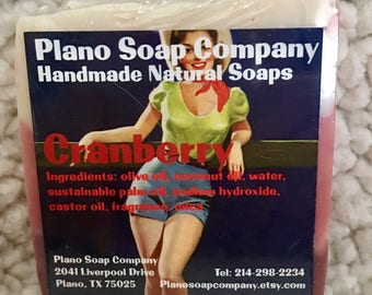 Cranberry Soap Bar