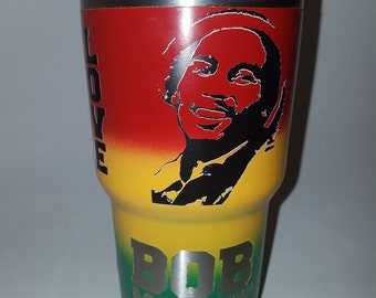 Bob Marley Personalized Tumbler