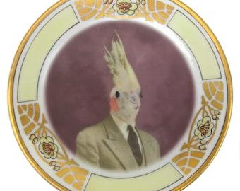 """Mr. Gary Tiel Portrait Plate 6"""""""