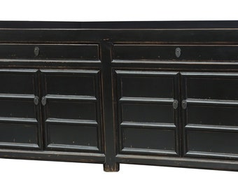 Black Wood Media Cabinet From Terra Nova Designs